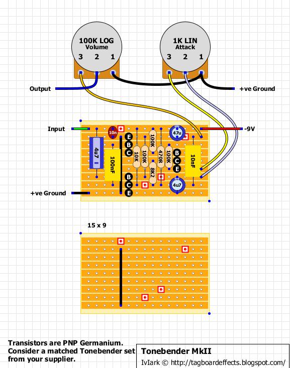 Guitar FX Layouts: Sola Sound Tone Bender Professional MKII on pro co rat, ibanez tube screamer, boss ds-1 schematic, ross compressor schematic, overdrive schematic, guitar pedalboard, marshall shredmaster, fuzz schematic, univox super-fuzz, phaser schematic, guitar schematic, shin-ei companion fy-2,