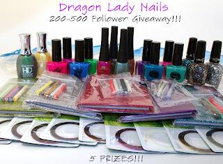 Dragon Lady Nails giveaway
