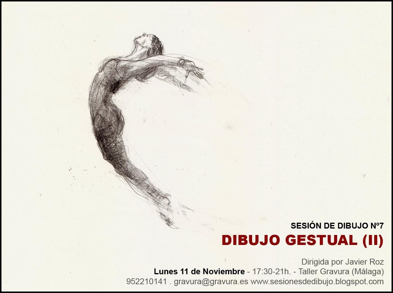 sesiones de dibujo SESIN N7  DIBUJO GESTUAL II