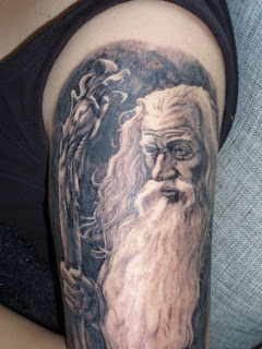 Tatuagem de mago