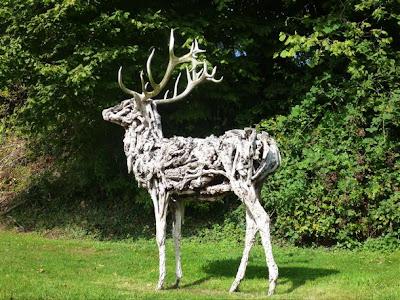 driftwood sculpture by Heather Jansch