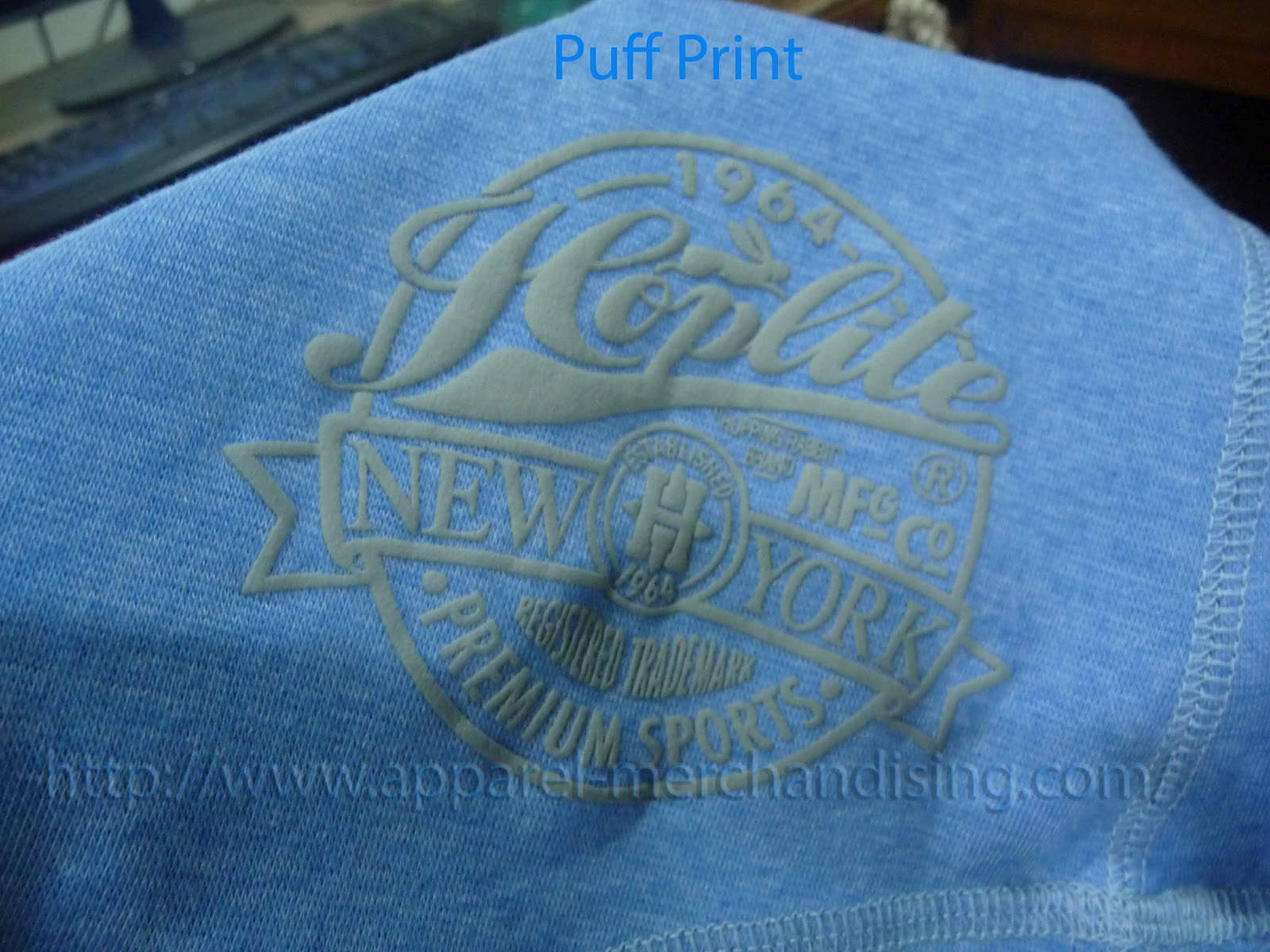 Puff print learnmerchandising for 4 color process t shirt printing