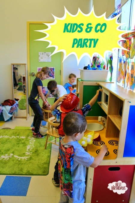 A Superhero Birthday Party at Kids & Company  |  Best Birthdays