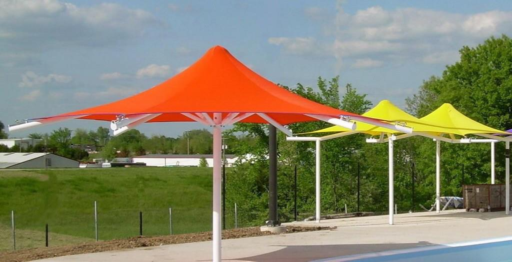 Car parking shade in uae for Sun shade structure