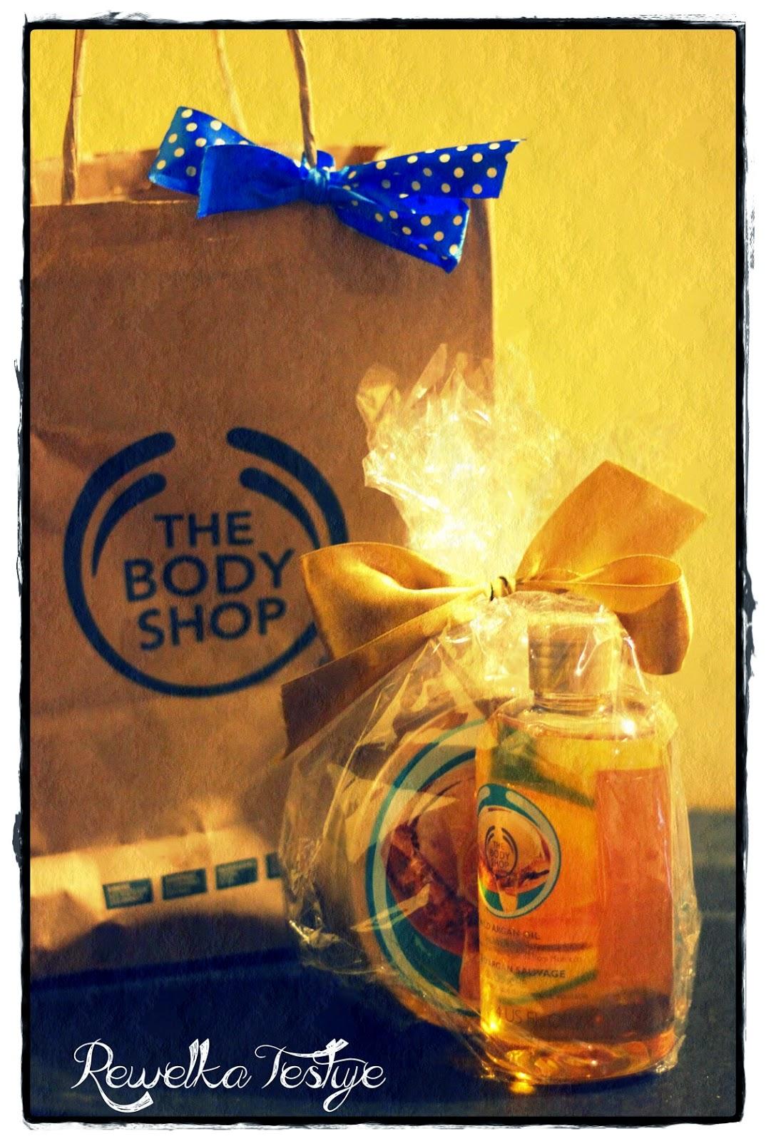 Nagroda z The Body Shop - taki miły akcent