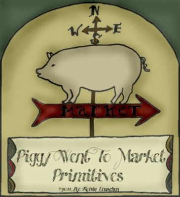 Piggy Went To Market Primitives