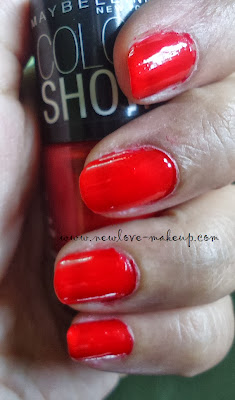 Maybelline Color Show Nail Paints Review, NOTD