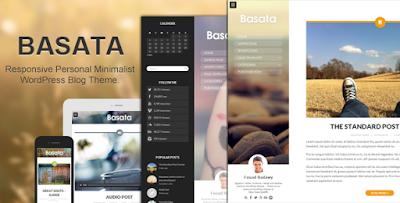 Download Basata Retina Responsive WordPress Blog Theme