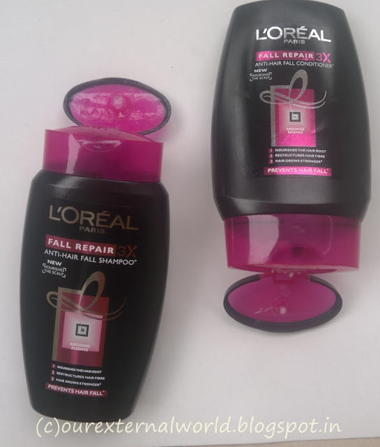 L'oreal Paris Fall Repair 3X Shampoo and Conditioner - Review