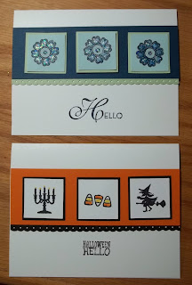 Dasy Lay-out for small images like Stampin'UP!'s Halloween Hello or Lacy and Lovely