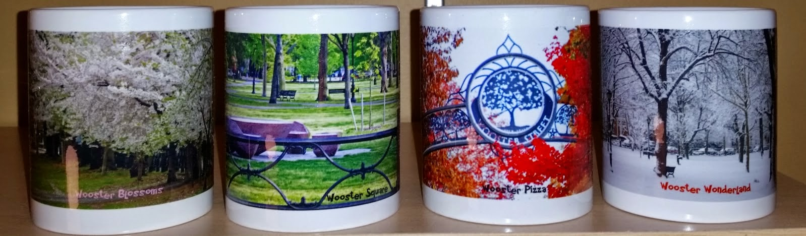 Wooster Square Four Season Mugs