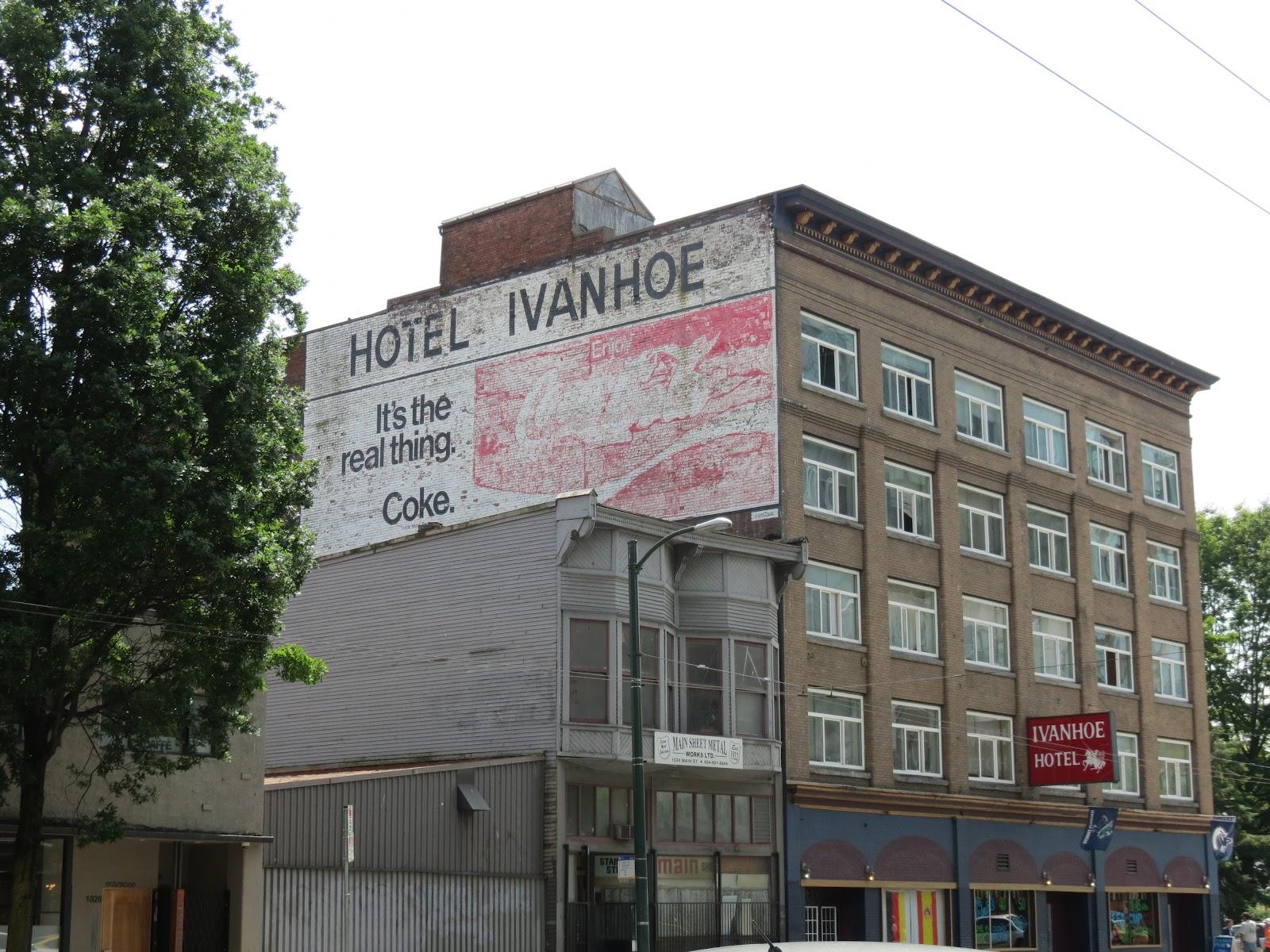 Ivanhoe Hotel Pub Vancouver