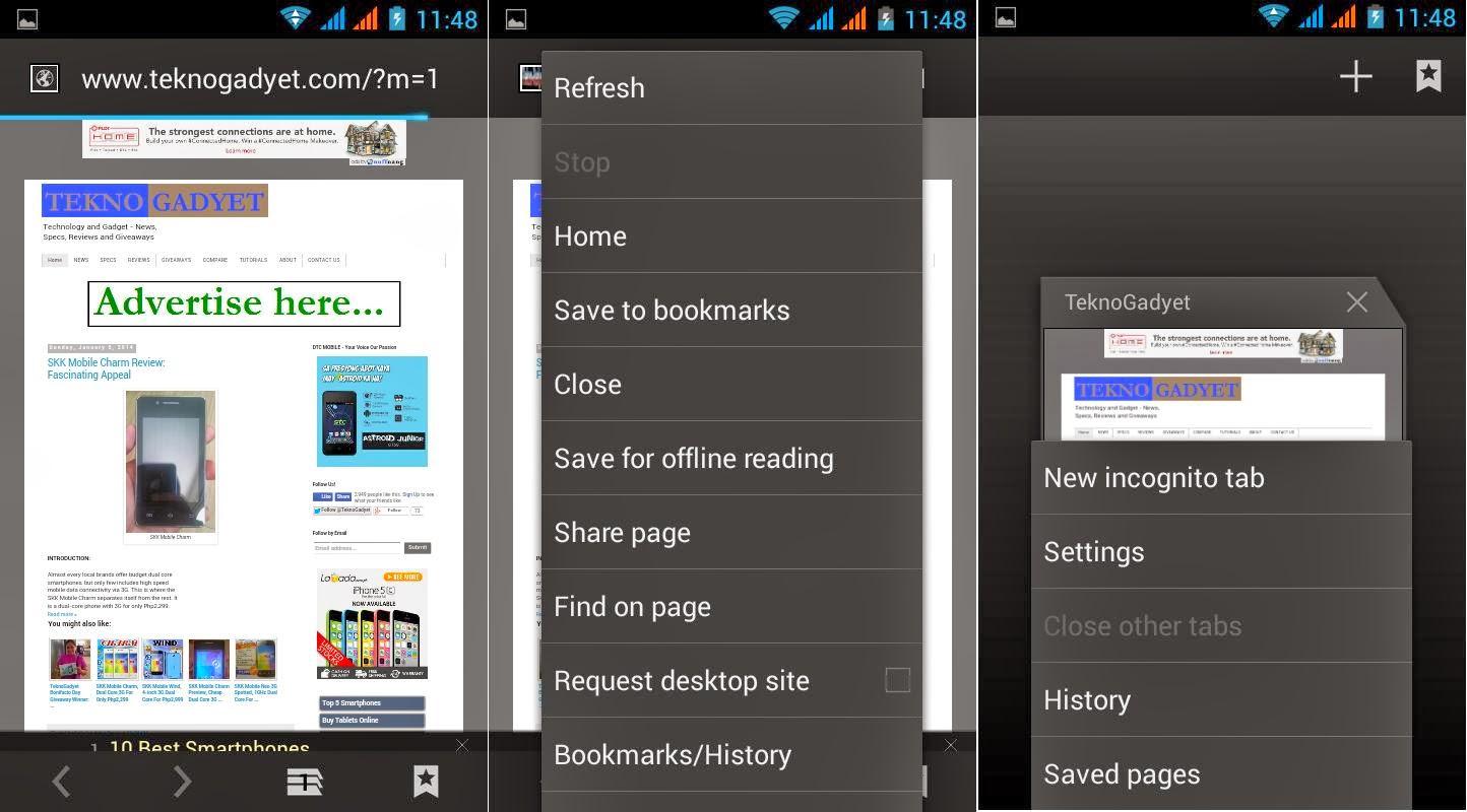 SKK Mobile Glimpse Browser