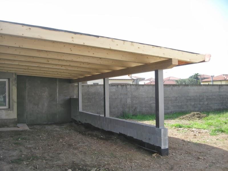 Pilastri in ferro per tettoie - Tettoie in ferro per auto ...