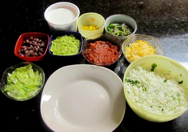 Mexican Vegetarian Burrito Bowl   2