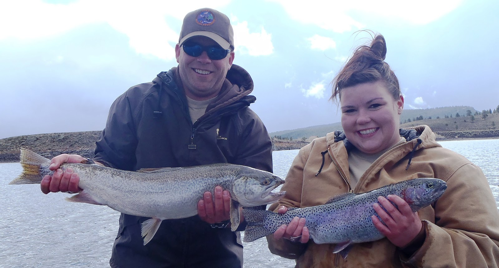 Southern utah hunt and fish panguitch lake survey great for Southern utah fishing report