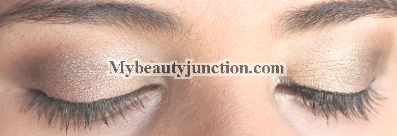 EOTD: Soft brown gold romantic eye makeup look using Too Faced A Few Of My Favourite Things
