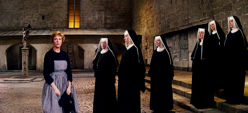 'How do you solve a problem like Maria?' Sister Maria and the nuns from The Sound of Music