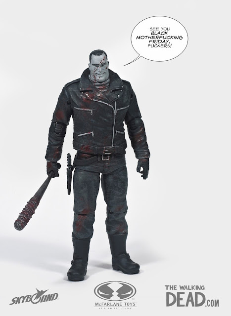 Skybound Entertainment Exclusive Negan The Walking Dead Comic Book Action Figure by McFarlane Toys
