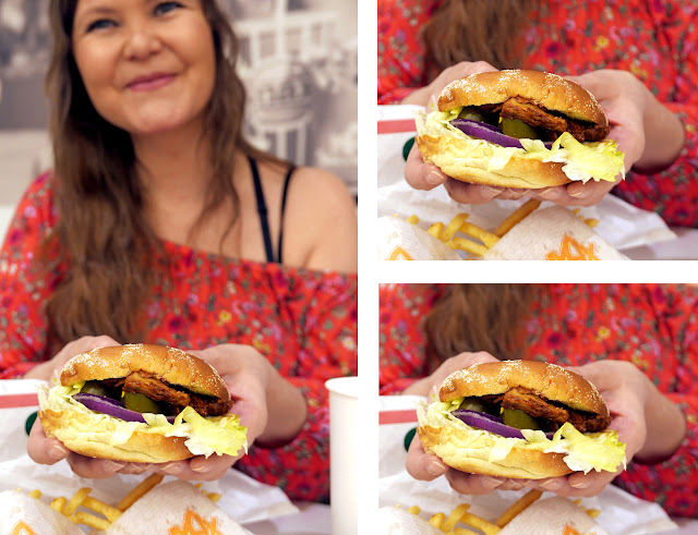 Test Max Burger Green Familie Veganburger Vegetarburger Kjøttfri Vegansk Pulled Oumph