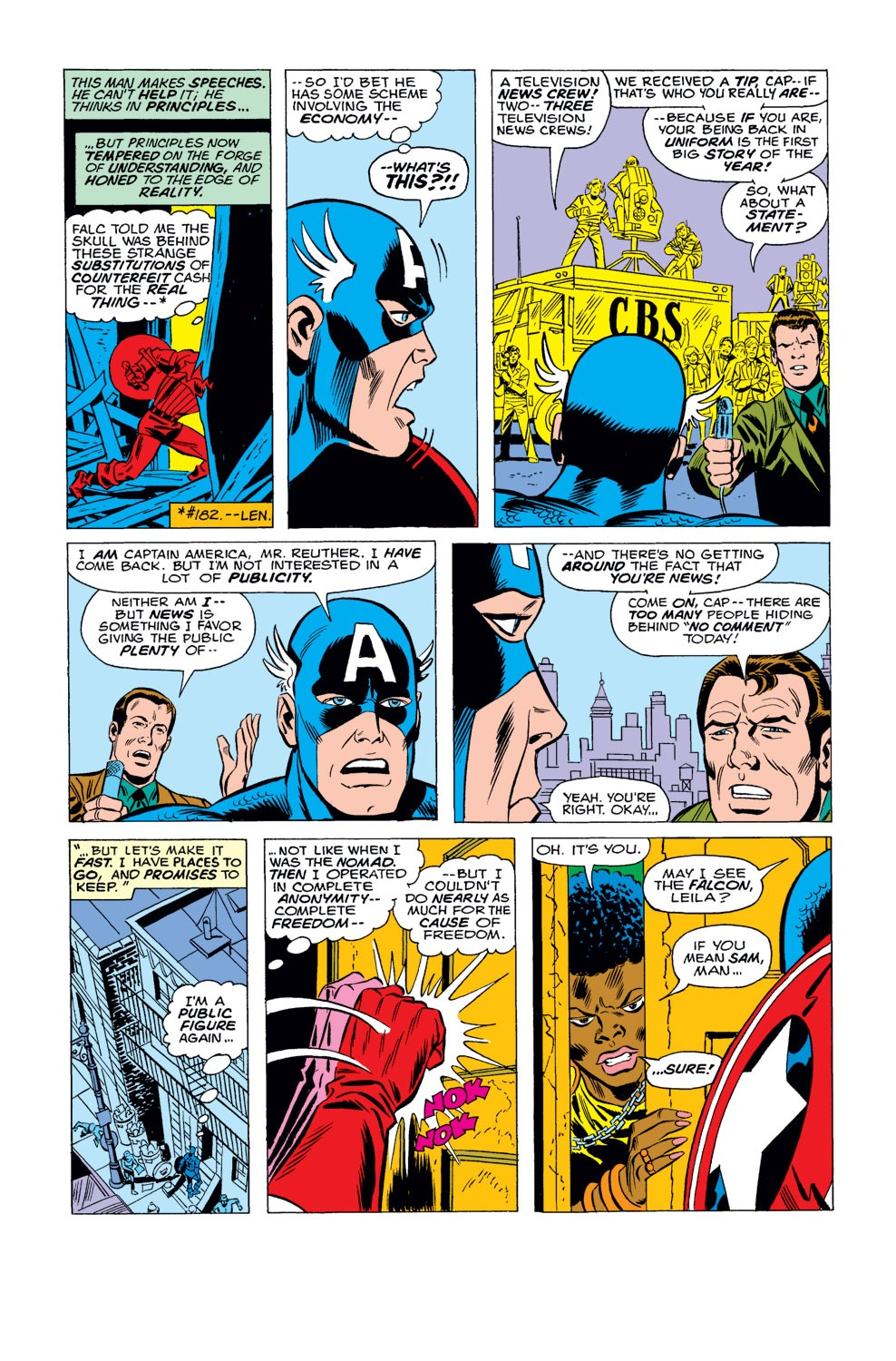 Captain America (1968) Issue #184 #98 - English 5