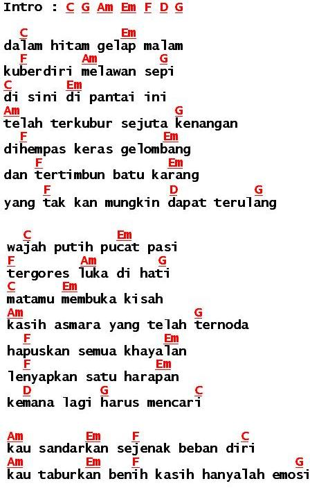 448 x 703 jpeg 58kB, ... List of Lirik Dan Chord Lagu Malaysia ~ Apr ...