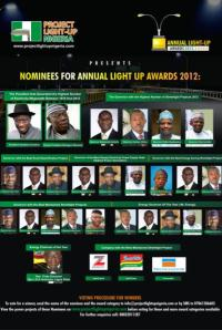 Annual Light Up Nigeria Awards 2012