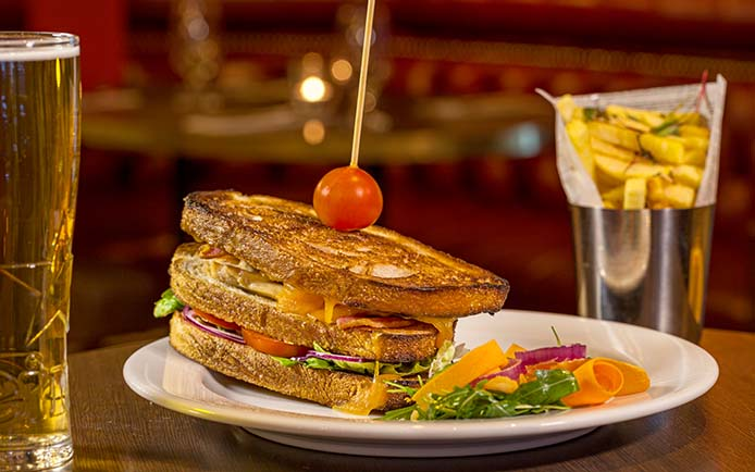 hops club sandwich