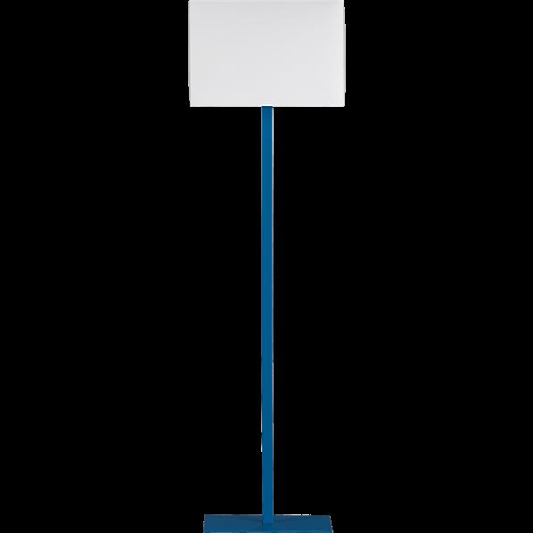 lemongrass interiors inspired the florida keys With cb2 blue floor lamp