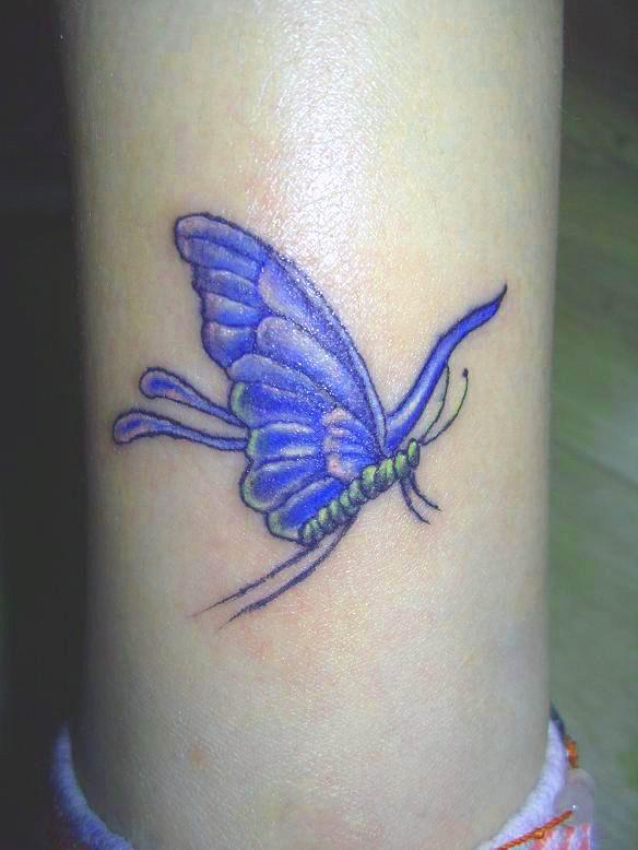 Beautifull feminine butterfly tattoos for women zentrader for Butterfly tattoos for women