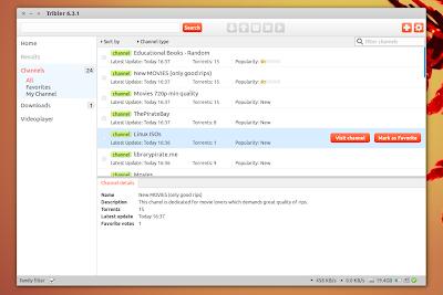 Tribler 6.3.1 Ubuntu