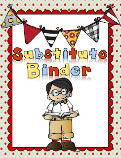 Substitute Binder Freebie