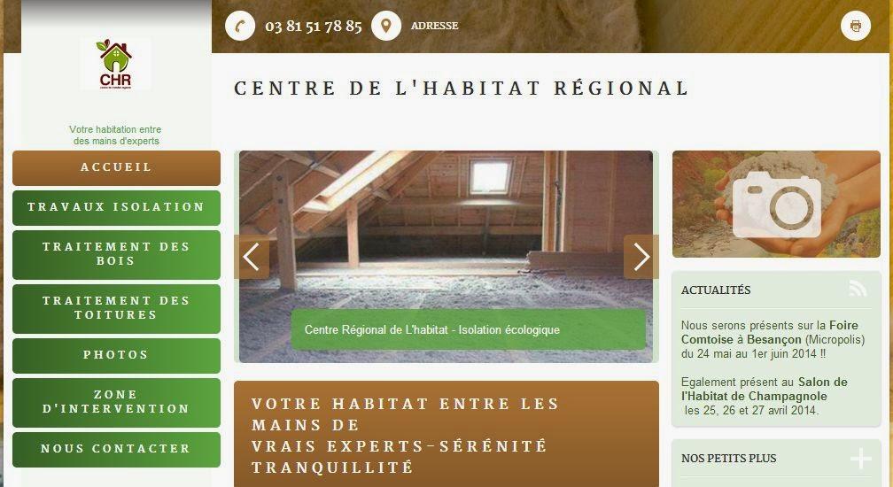 CHR - cntre de l'habitat régional au salon de l'habitat Micropolis Besancon