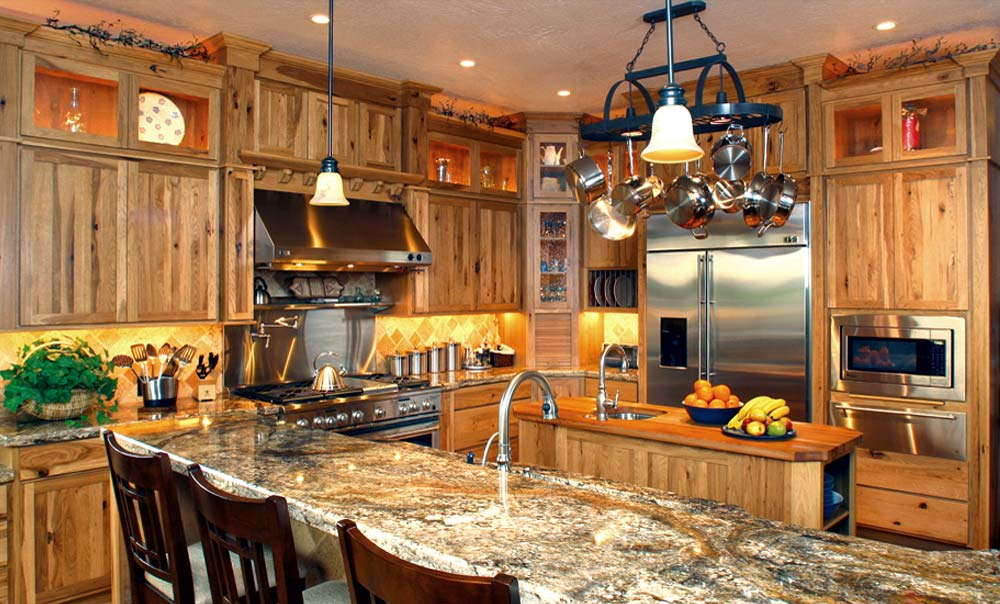 Western Kitchen Design High Mountain Style Stylish Western Home