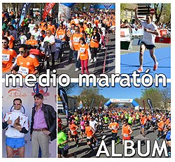 Medio Maratón de Aranjuez: Fotos y Video