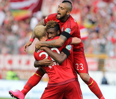 Darmstadt 0 x 3 Bayern de Munique - Campeonato Alemão(Bundesliga) 2015/16