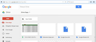 Cara Uplode Drive Google