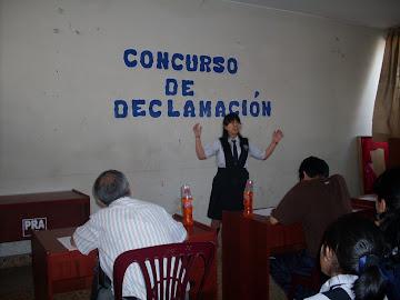 CONCURSO DE DECLAMACIÓN 2do Grado - 2010