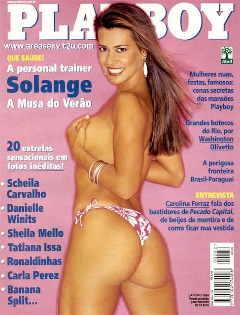 Solange Frazão - Playboy 1999