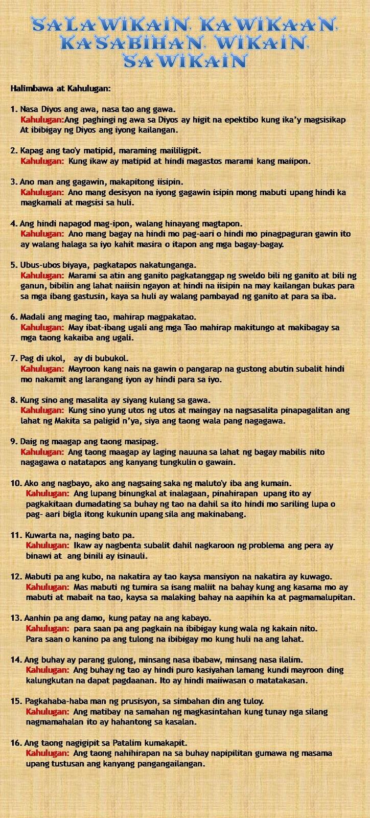 ano ang ibig sabihin ng sa pangangalaga ng wika at kalikasan Piyesa para sa sabayang bigkas by poyaguilar in types  speeches.