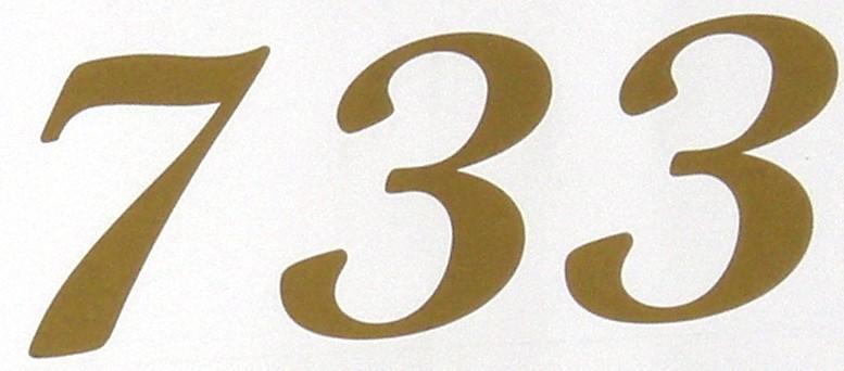 733 is the hypotenuse of a primitive Pythagorean triple: 7332 = 1082 + 7252.