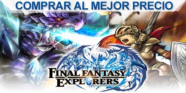 comprar final fantasy explorers al mejor precio