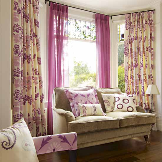 New home designs latest modern homes curtains designs ideas - Cortinas vintage dormitorio ...
