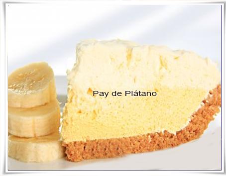 Recetas de postres y helados, pay