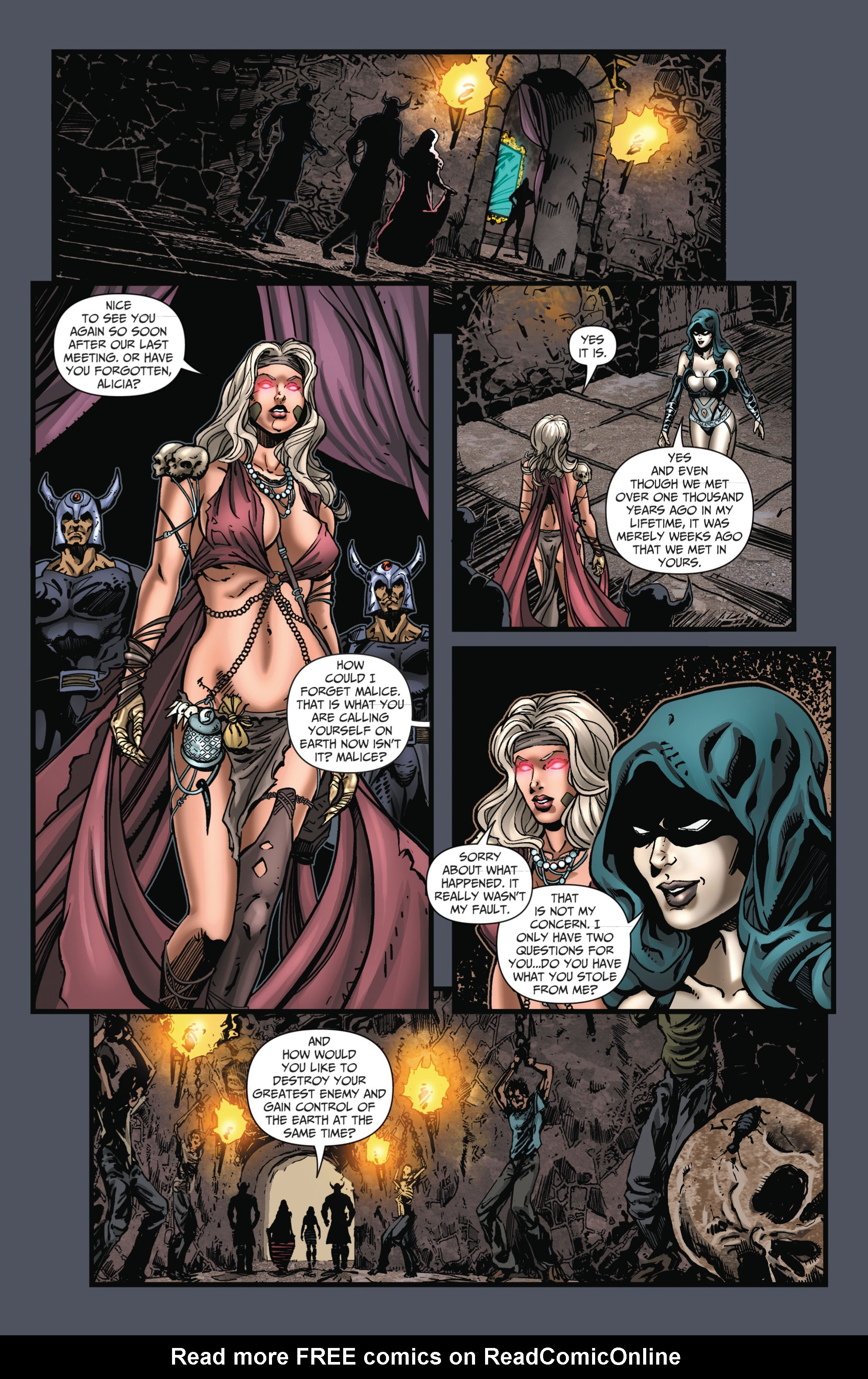 Grimm Fairy Tales (2005) Issue #66 #69 - English 10