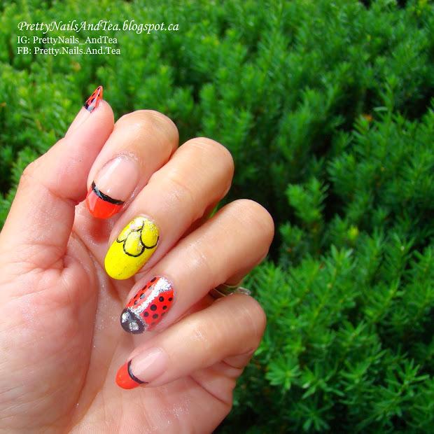 pretty nails and tea cute darling