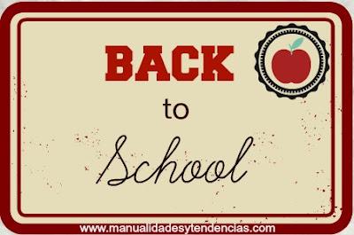 Tutoriales de manualidades para la vuelta al cole / DIY back to school tutorials / Tutoriels pour la rentrée