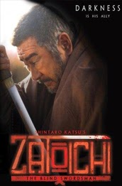 zatoichi the blind swordsman film poster