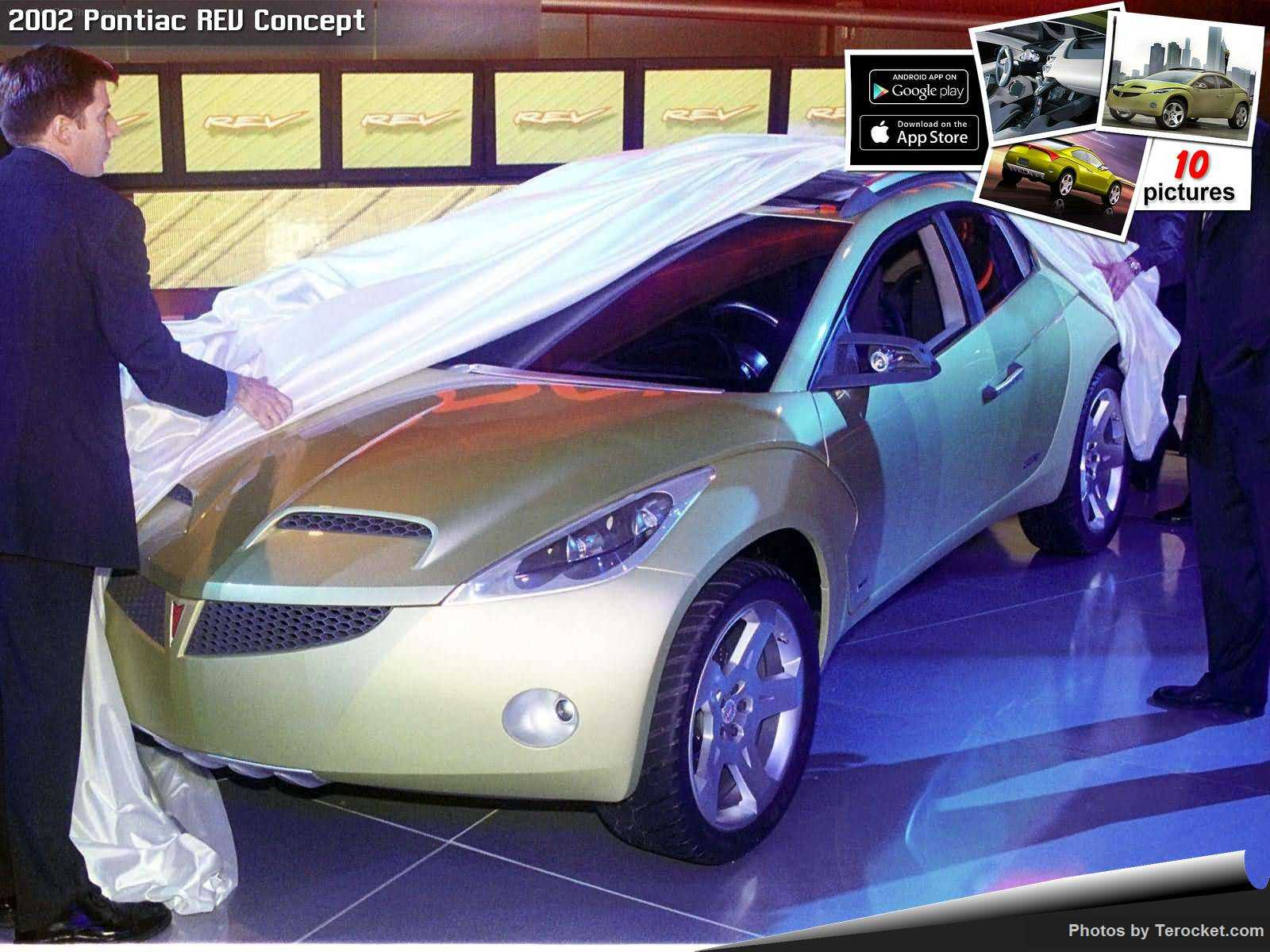 Hình ảnh xe ô tô Pontiac REV Concept 2002 & nội ngoại thất