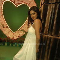 Vimala raman sexy in white dress